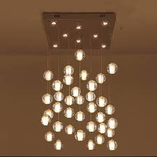 modern stairwell lighting. modern stairwell lighting aliexpresscom buy diy led crystal pendant lights fixtures magic ball lustre i