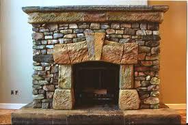 image of fireplace surround stone