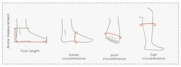 Foot Measurement Chart Earth Spirit Tarot Size Guide