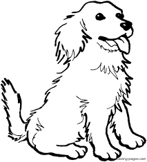 Fancy Dog Coloring Sheet 86 On Coloring Books With Dog Coloring