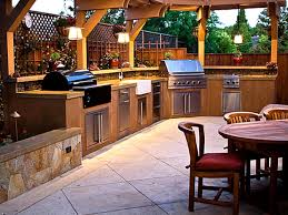 Fanciful Design Ideas Outdoor Kitchen Rustic Outdoor Kitchen