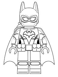 Kleurplaat Batman Logo