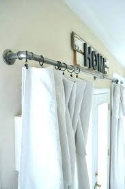 diffe ways to hang curtains scarf how to hang eyelet curtains in bay window