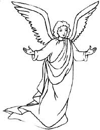 Angel Coloring Pages At Getcoloringscom Free Printable Colorings