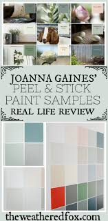 check out my review of joanna s l and stick paint samples here