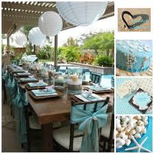 Nautical Table Settings Beach Themed Wedding Decorations Beach Wedding Ideas Beach Theme