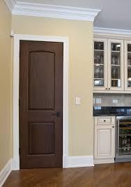 Modern door design for bedroom, Rectangle New Design Ideas Door Bedroom  Modern Brown Style Interior ...