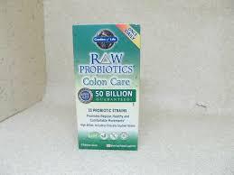 details about garden of life raw probiotics colon care 30 vegetarian capsules