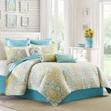 turquoise and yellow bedding. Beautiful Turquoise Not A Fan Of The Bedding But Loving Turquoise Yellow Grey Color With Turquoise And Yellow Bedding N