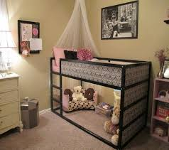 Adorable Bed With Play Area Underneath. There Are Christmas Lights For  Inspiring Bunk Bed With Play Area Underneath Inspiration