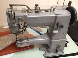 adler cylinder arm walking foot industrial leather sewing machine good condition