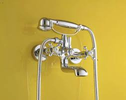 bathroom shower faucets. Chrome Bath Shower Faucet Wall Mixer Bathroom Telephone With Hand Faucets