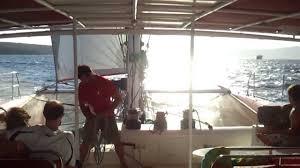 Dream Catcher Boat Santorini Dream Catcher Santorini Sailingcaptain Ted on board YouTube 51