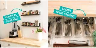 Storage Tricks For A Tiny Kitchen Small Kitchen Organization Delectable Kitchen Organization Ideas