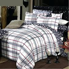 unusual design grey plaid bedding natural cotton clearance comforter sets baby and orange buffalo tartan flannel