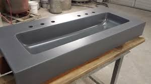 appealing trough sink for your bathroom design ideas trough sink with stainless steel sink and
