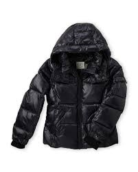S13 Coat Size Chart Toddler Girls Down Glossy Puffer Jacket C21