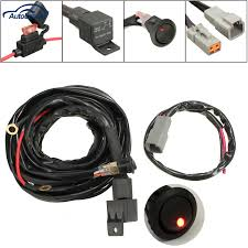 online buy whole led work light wiring harness from led 2015 new 12v 40a switch relay for 3m wiring harness kit for led spotlights work fog