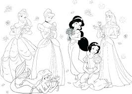 Disney Princess Color Pages Free Princess Coloring Pages To Print