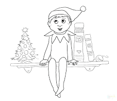 The Best Free Elf Coloring Page Images Download From 1358 Free