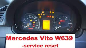 Reset Service Interval Mercedes Vito W639