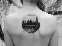 Lake Wood Circle Back Tattoo