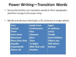 emerson essay on experience research paper analysis easy guide transition words in writing