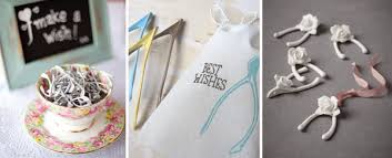 10 fantastic wedding favour ideas from plants to stamped spoons Easter Wedding Favor Ideas wedding favours wishbones easter wedding ideas favors