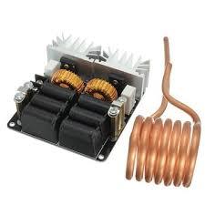 zvs high frequency induction heating input voltage 12v 55v steel material diy melting furnace