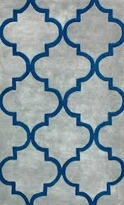 blue gold rug contemporary orange trellis area carpet hand tufted wool rugs modern