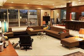 mad men furniture. donu0027s upper east side bachelor pad mad men furniture n