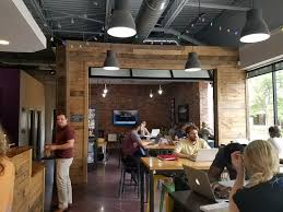 office coffee shop. The Office Coffee Shop: Wide View Of Interior Shop L