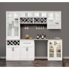 in home bar furniture. contemporary home newage products 96 in w x 25 d white shaker style 8 inside in home bar furniture