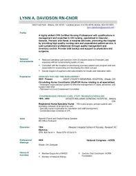 Best Resume Format For Nurses Nursing Cv Format Asafonggecco in Best Resume Format For Nurses 1