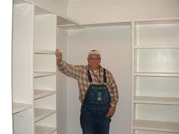 closet rods and shelves for more capacious closets ideas diy
