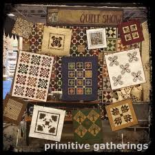 Little Gatherings Books are HERE!!!! – Primitive Gatherings Blog & 11 of the little quilts that will be in the Little Gatherings Book out in  August Adamdwight.com