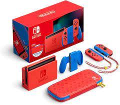 Máy chơi game Nintendo Switch - Mario Red & Blue Edition Phiên bản mới Giá  rẻ