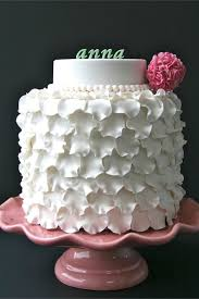 Ruffles Cake Design Sweet Cake Design Ruffle Pom Pom Cake