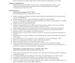 Full Size of Resume:property Management Resumes Attractive Commercial Property  Management Resume Samples Dreadful Property ...