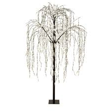 Outdoor Lighted Stick Trees Led Willow Tree