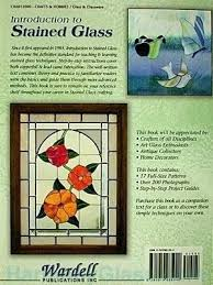 glass crafters stained glass glass stained glass front cover introduction to stained glass back cover glass