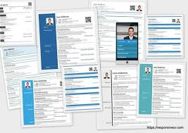 Here are sample of resume templates
