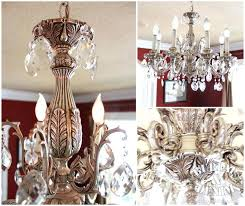 silver crystal chandelier favorite things antique silver crystal drop chandelier