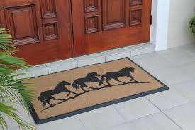 A1 Home Collections LLC First Impression Horse Doormat & Reviews ...