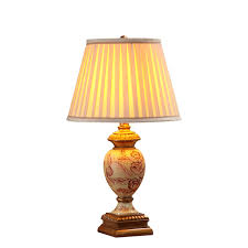 country conch table lamp bedroom bedside lamp sample room simple modern european style creative living room