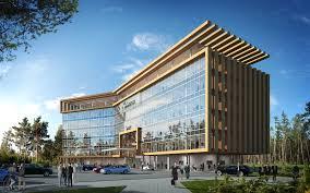 office facade. ig u201cgenerationu201d office headquarters berezovski u2013 twelve architects and masterplanners facade