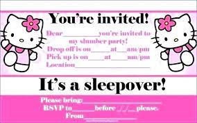 free sleepover invitation templates free sleepover invitations slumber party templates invitation
