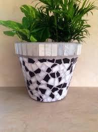 443 best mosaik pots images on garden pots large
