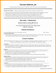 Nursing Resume Objective New Grad Fresh Ba Graduate Resume Sample