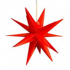 Led Stern 25cm Außen Trafo Rot